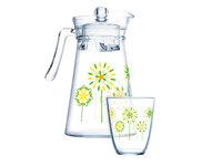 LUMINARC Q4105 Набор питьевой 7 предметов КОТТОН ФЛАУЭР стекло